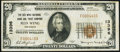 National Bank Notes:Minnesota, Red Wing, MN - $20 1929 Ty. 1 The Red Wing NB & TC Ch. # 13396Very Fine.. ...