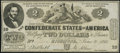 Confederate Notes:1862 Issues, CT42 Counterfeit $2 1862 Choice Crisp Uncirculated.. ...