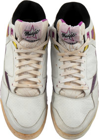 452f8d5a1f94 1990-91 Magic Johnson Game Worn   Signed Los Angeles