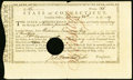 Colonial Notes:Connecticut, Connecticut Treasury Certificate £16 Feb. 24, 1789 Anderson CT-UNL Very Fine, HOC.. ...