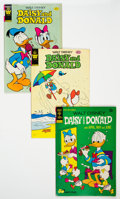 Bronze Age (1970-1979):Cartoon Character, Daisy and Donald Group of 44 (Gold Key, 1973-84) Condition: Average FN....