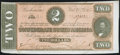 Confederate Notes:1864 Issues, T70 $2 1864 Crisp Uncirculated.. ...