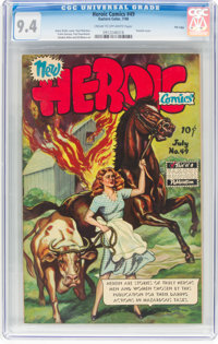 Heroic Comics #49 File Copy (Eastern Color, 1948) CGC NM 9.4 Cream to off-white pages