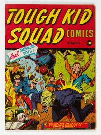 Tough Kid Squad Comics #1 (Timely, 1942) Condition: FN+