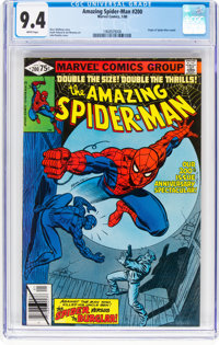 The Amazing Spider-Man #200 (Marvel, 1980) CGC NM 9.4 White pages