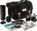Explorers:Space Exploration, Richard Gordon's Owned and Used Canon AE-1 35mm Camera Outfit with 50mm f1.8, 24mm f2.8, 70-150mm f4.5 Zoom Lenses, and Camera...