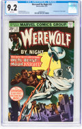 Bronze Age (1970-1979):Horror, Werewolf by Night #33 (Marvel, 1975) CGC NM- 9.2 White pages....