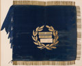 Military & Patriotic:Pre-Civil War, Jordan B. Noble Owned Battle of New Orleans Presentation Flag: Originally Presented by the Ladies of New Orleans to Andrew Jac...