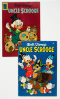 Golden Age (1938-1955):Cartoon Character, Four Color #495/Uncle Scrooge #37 Group (Dell, 1953-62)....