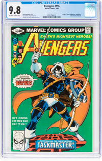 The Avengers #196 (Marvel, 1980) CGC NM/MT 9.8 Off-white to white pages