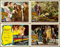 "Stairway to Heaven (Universal International, 1946). Very Fine+. Title Lobby Card & Lobby Cards (3) (11"" X 14&qu..."