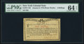Colonial Notes:New York, New York January 6, 1776 (Water Works) 4s PMG Choice Uncirculated 64 EPQ.. ...