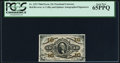 Fractional Currency:Third Issue, Fr. 1253 10¢ Third Issue PCGS Gem New 65PPQ.. ...