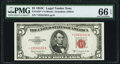 Small Size:Legal Tender Notes, Fr. 1535* $5 1953C Legal Tender Note. PMG Gem Uncirculated 66 EPQ.. ...
