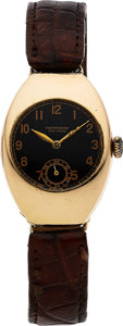 Timepieces:Wristwatch, Movado, Very Fine Early Chronometre, 18K Yellow Gold, Manual Wind,Ref. 5083, Circa 1915. ...