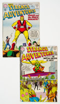 Silver Age (1956-1969):Science Fiction, Strange Adventures #122 and 152 Group (DC, 1960-63).... (Total: 2 Comic Books)
