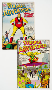 Strange Adventures #122 and 152 Group (DC, 1960-63).... (Total: 2 Comic Books)