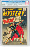 Silver Age (1956-1969):Superhero, Journey Into Mystery #89 (Marvel, 1963) CGC FN/VF 7.0 Off-...