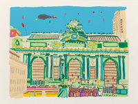 Susan Pear Meisel (b. 1947) Grand Central, 1977 Screenprint in colors on paper 35 x 47 inches (88