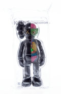 Collectible:Contemporary, KAWS (b. 1974). Dissected Companion (Black), 2016. Painted cast vinyl. 14-3/4 x 5-1/2 x 3-1/2 inches (37.5 x 14 x 8.9 cm...