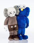 Collectible:Contemporary, KAWS (b. 1974). Seeing/Watching, 2018. Plush toy. 15-1/2 x 12 x 3-1/2 inches (39.4 x 30.5 x 8.9 cm). No. 1304. Incised o...