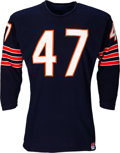 Football Collectibles:Uniforms, 1964-67 Johnny Morris Game Worn Chicago Bears Jersey....