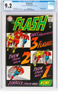 Silver Age (1956-1969):Superhero, The Flash #173 (DC, 1967) CGC NM- 9.2 Off-white to white pages....