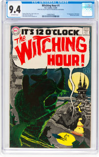 The Witching Hour #1 (DC, 1969) CGC NM 9.4 Off-white pages