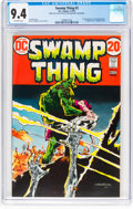Bronze Age (1970-1979):Horror, Swamp Thing #3 (DC, 1973) CGC NM 9.4 Off-white pages....