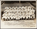 Baseball Collectibles:Photos, 1941 St. Louis Cardinals Team Signed Photograph - From The MortCooper Collection....