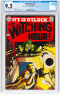 Silver Age (1956-1969):Horror, The Witching Hour #2 (DC, 1969) CGC NM- 9.2 Off-white pages....