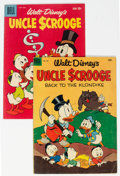 Golden Age (1938-1955):Cartoon Character, Four Color #456/Uncle Scrooge #27 Group (Dell, 1953-59)....