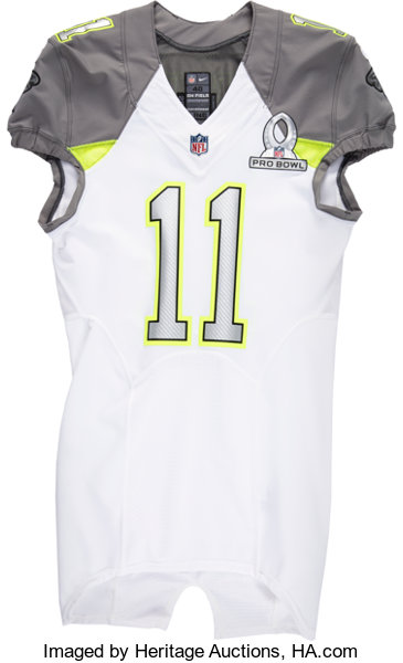 new product fd3aa cc9fb 2015 Julio Jones Game Issued Pro Bowl Jersey.... Football ...
