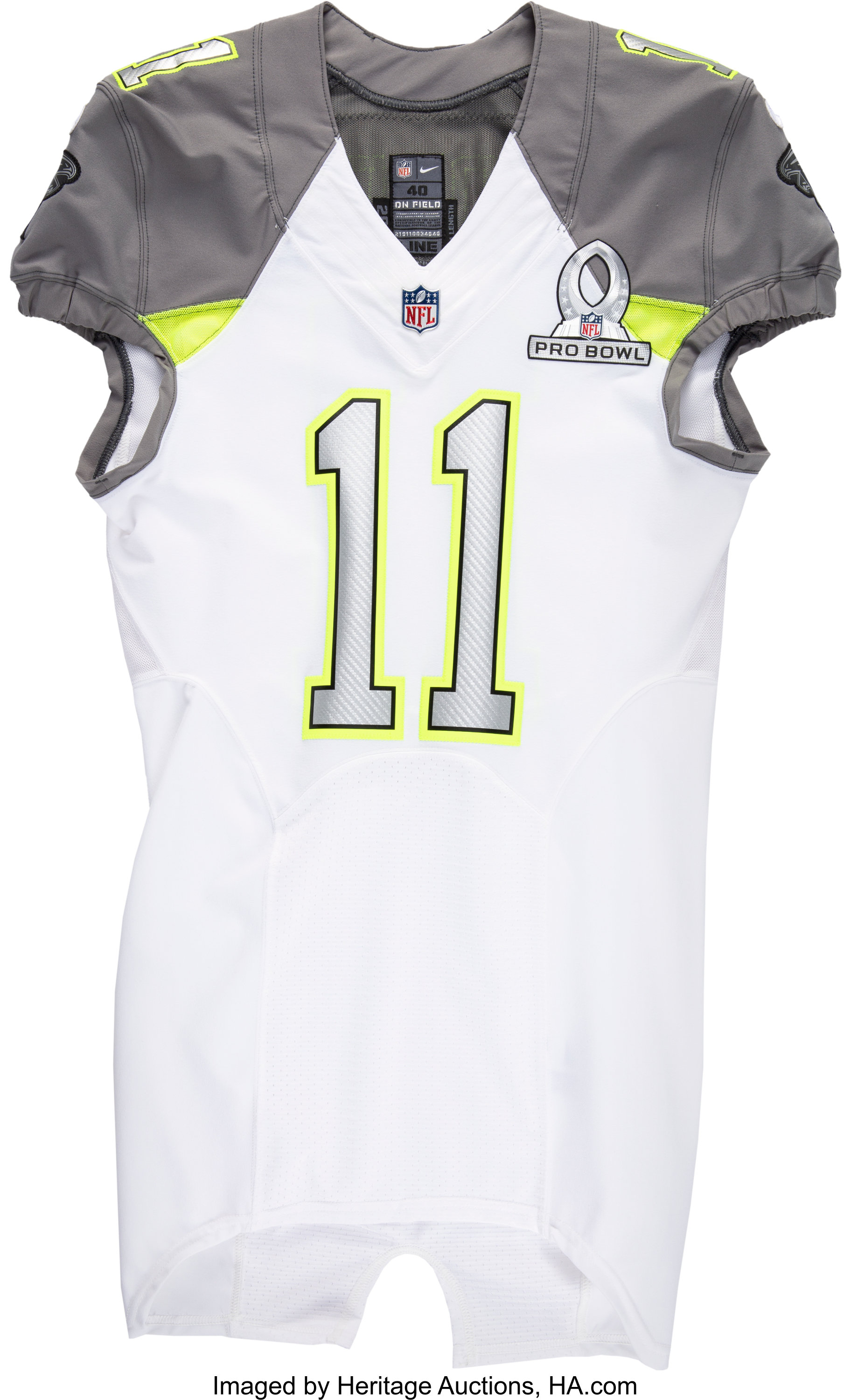 2015 Julio Jones Game Issued Pro Bowl Jersey Football Lot 57717 Heritage Auctions