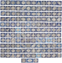 Space Shuttle Missions STS-1 through STS-135: Jerry Ross's Complete Set of 135 Silver Robbins Medals, One for Each Missi...