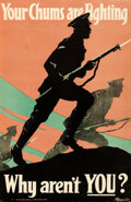 Movie Posters:War, World War I Propaganda (Central Recruiting Committee, 1917...