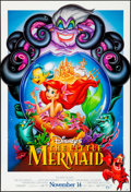 "Movie Posters:Animation, The Little Mermaid (Buena Vista, R-1997). Rolled, Very Fine-. One Sheet (26.75"" X 39.75"") DS, Advance. Animation.. ..."
