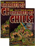 Golden Age (1938-1955):Horror, Chamber of Chills #12 Group (Harvey, 1952).... (Total: 2 ComicBooks)