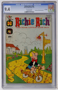Bronze Age (1970-1979):Cartoon Character, Richie Rich #103 File Copy (Harvey, 1971) CGC NM 9.4 Off-whitepages....