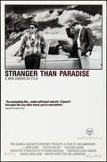 "Movie Posters:Drama, Stranger Than Paradise (Samuel Goldwyn, 1984). Rolled, VeryFine/Near Mint. One Sheet (27"" X 41""). Drama.. ..."