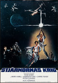 "Movie Posters:Science Fiction, Star Wars (20th Century Fox, 1977). Rolled, Very Fine-. Swedish OneSheet (27.5"" X 39.25""). Science Fiction.. ..."