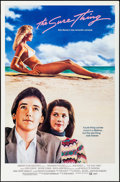 """Movie Posters:Comedy, The Sure Thing & Other Lot (Embassy, 1985). Rolled, Very Fine+. One Sheets (2) (27"""" X 41"""" & 27"""" X 40"""") SS. Comedy.. ... (Total: 2 Items)"""