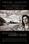 """Movie Posters:Drama, What's Eating Gilbert Grape (Paramount, 1993). Rolled, Very Fine-.One Sheet (27"""" X 40"""") & Israeli One Sheet (27.5"""" X 39"""") D...(Total: 2 Items)"""