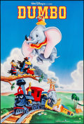 """Movie Posters:Animation, Dumbo & Other Lot (Buena Vista, R-1990s). Rolled, Overall: VeryFine+. One Sheets (2) (27"""" X 40"""" & 27"""" X 41"""") DS. Ani..."""