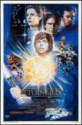 "Movie Posters:Science Fiction, Return of the Jedi (20th Century Fox, R-1994). Rolled, VeryFine/Near Mint. 10th Anniversary One Sheet (27"" X 41"") SS..."