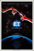 """Movie Posters:Science Fiction, E.T. The Extra-Terrestrial (Universal, 1982). Rolled, Very Fine-.One Sheet (27"""" X 41"""") & 20th Anniversary One Sheet (27"""" X ...(Total: 2 Items)"""