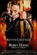 """Movie Posters:Adventure, Robin Hood: Prince of Thieves & Other Lot (Warner Brothers,1991). Rolled, Very Fine-. One Sheets (3) (27"""" X 40"""") SS,..."""