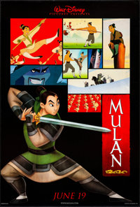 """Mulan & Other Lot (Buena Vista, 1998). Rolled, Very Fine+. One Sheets (3) (27"""" X 40"""") DS, Two Styles. Anim..."""