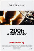 """Movie Posters:Science Fiction, 2001: A Space Odyssey & Other Lot (Warner Brothers, R-2000).Rolled, Overall: Very Fine. One Sheets (2) (27"""" X 40"""") DS. Scie...(Total: 2 Items)"""
