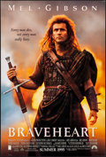 """Movie Posters:Action, Braveheart (Paramount, 1995). Rolled, Very Fine. One Sheet (27"""" X40"""") DS, Advance. Action.. ..."""